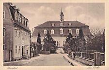 SELTEN Foto AK ca 1935 @ Herrnhut Ochranov @ Straße zur Kirche @ Gasthaus ?