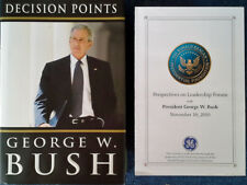 GEORGE W. BUSH - DECISION POINTS - HARDBACK WITH DUST JACKET - 1ST ED. - SIGNED