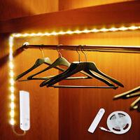 Sn _ LED Détecteur de Mouvement Pir Bande Barre Lampes Lumière Placard Cuisine