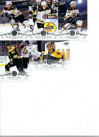 2018-19 Upper Deck Series 2 Hockey Boston Bruins Team Set of 5 Cards