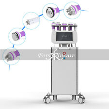 5in1 Ultrasonic Cavitation Vacuum RF Radio Frequency Body Shaping Stand Machine