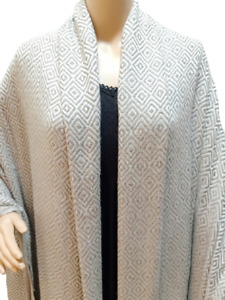 Thick Cashmere Throws Shawl Blanket Travel Throw Soft Light Weight Chunky Design