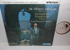 ASD 345 Schubert Symphonies Nos. 3 & 5 RPO Beecham C/G Factory Sample