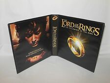 Custom Made Lord of the Rings Fellowship of the Ring Trading Card Album Binder