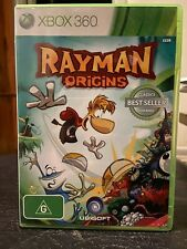 Rayman Origins Xbox 360 (one, 1) platform game. Ubisoft. Complete with manual.