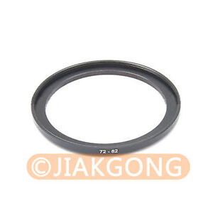 72mm-82mm 72-82 mm 72 to 82 Step Up Ring Filter Adapter