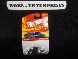 Hot Wheels Classics Series 2 Chrome '40 Ford Coupe ec-933