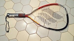 New Ektelon Longbody Racquetball Racquet Ascent Titanium w/case