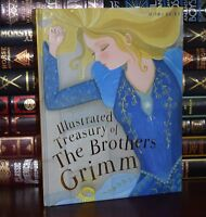 Illustrated Treasury of the Brothers Grimm New Deluxe Children's Hardcover Gift