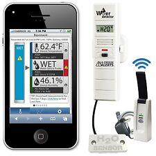 La Crosse Alerts D112.104.E1.WGB Wireless Monitor System Set with Water Leak Pro