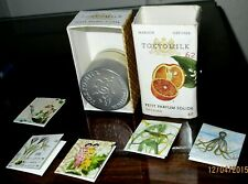 NEW  TOKYO MILK SATSUMA #62  SOLID PARFUM WITH 5 MINI NOTE CARDS IN BOX