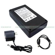 12V 6800mAh Rechargeable Lithium-ion Li-lon Battery Pack+AC Charger for Toy, LED