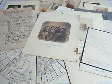 Dokumente & Fotos Genealogie Familie MARTENS (Christinenhof in Mecklenburg)
