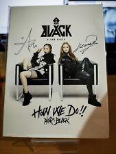 Akor Black - Korean Kpop - Signed Autographed CD - How We Do!! - Promo