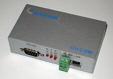 GeoVision GV-COM PTZ Controller, USB to RS-232 / RS-485 Data Interface Converter