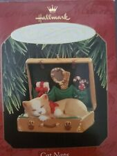 New Hallmark Keepsake Ornament 1998 Cat Naps Collector's Series #5 Kitty Kitten