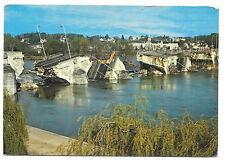 France, Tours, Pont Wilson Collapse PPC, 1978 PMK, Bridge Disaster after Flood