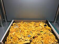 LEGO Bulk Bricks, Pieces, Parts Lot - Yellow, Almost 3 POUNDS!