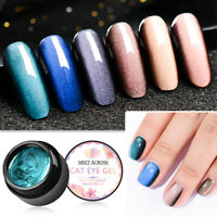 5D Cat Eye Magnetic Soak Off UV Gel Nail Polish Art Gel Varnish 5ML MEET ACROSS