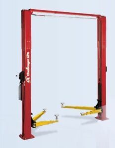 New 2 Post Challenger Lift 10,000 lb E10 10K Hoist Import E-10 E10