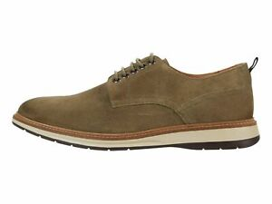 Clarks Chantry Walk Olive Suede Men's Casual Lace Up Oxfords 56346