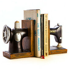 Vintage Old School Retro Sewing Machine Bookends Perfect for Mommy Mother Moms
