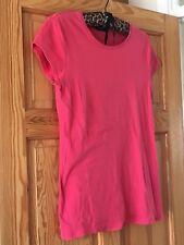 Dorothy Perkins Ladies Pink Short Sleeved 100% Cotton T-Shirt UK Size 16
