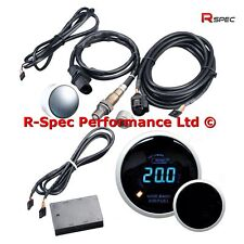 Prosport 52 mm numérique à large bande AFR Air Fuel Ratio Gauge Kit & Bosch LSU capteur