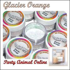 Rainbow Dust Cake Sparkle Glitter-Glacier Arancione
