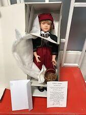 Sonja Hartmann Puppe Rotkäppchen 46 cm. Top Zustand.