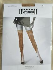 NWT WOLFORD STAY-UP CARAMEL SIZE SMALL