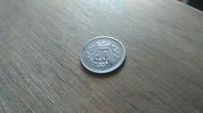More details for 1843 queen victoria three halfpence silver coin