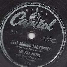 The Pied Pipers: Just Around the Corner + I Wanna Be A Friend of yours
