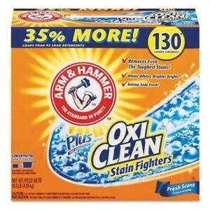 Arm & Hammer Power of OxiClean Powder Detergent, Fresh Scent, 9.92lb Box