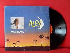 Fabulous ALEX Adeus, Africa LP NM PORTUGAL KITSCH POP MR GAY