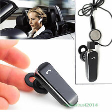 black Bluetooth 4.0 Handsfree Music earphone Headset for iPhone6 5s 5c 4s 4 3gs