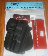 FOBUS PADDLE HOLSTER FOR CZ 75 75BD 75D COMPACT 9mm CONCEAL CARRY PISTOL