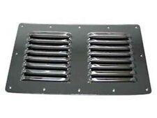"Gem Lux 6"" x 10"" Louvered Drain Cover Vent 830"