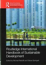 Routledge International Handbook of Sustainable Development (Routledge Internati