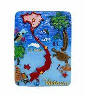 3D Resin Fridge Magnet Tourist Travel Souvenir Memorabilia Collection - Viet Nam