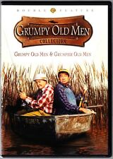 GRUMPY OLD MEN / GRUMPIER OLD MEN - JACK LEMMON - WALTER MATTHAU DVD