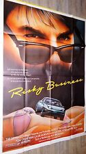 RISKY BUSINESS ! tom cruise  affiche cinema cars porsche