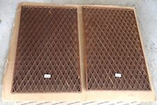 vintage Sansui SP-X8000 speaker covers grills wooden cloth fabric replacement