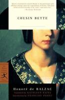 Cousin Bette Honoré De Balzac Modern Library Classic Endnotes Trade Paperback
