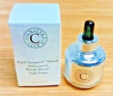Signature Club A  Rapid Tansport C MULTICEUTICAL WRINKLE BLASTER Night Serum NIB