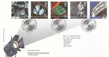 (11524) Gb FDC cine 100 años Mesa 16 de abril de 1996
