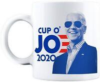 Joe Biden For President 2020 Cup O' Jo Democrat Coffee Ceramic Mug 11Oz Funny...