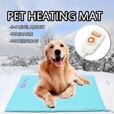 Pet Electric Heat Heated Heating Heater Waterproof Mat Blanket Bed Dog Cat Pad