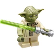 Lego Star Wars minifigure minifig YODA LIGHTSABER from 75168 75142