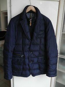 Bogner Jacke Herren Übergangsjacke Daunenjacke dunkelblau Größe 52